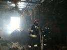 3.12.2012 Pożar stolarni w Chromnej