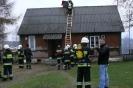 Pożar sadzy w kominie 08.04.2011
